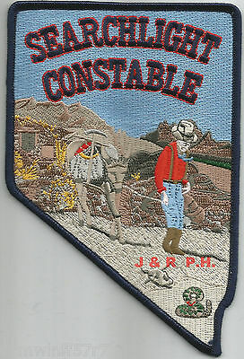 "Searchlight - Constable, NV  (4"" x 6"" size)   shoulder police patch (fire)"