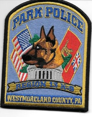 "Philadephia  K-9 Unit PA shoulder police patch 3.5/"" round size fire"