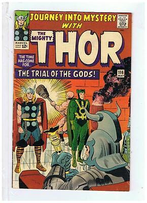 Marvel Comics Journey Into Mystery #116 ( Thor ) F/VF 1965