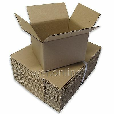 Postal Packing Cardboard Boxes Small Mailing Packaging Cartons