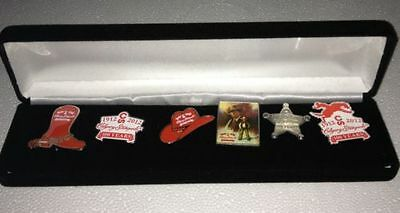 Calgary Stampede - 100 year Anniversary Collectors Pin Set NEW OLD STOCK