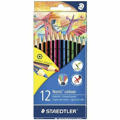 Staedtler Noris Club Heritage Coloured Pencils 12 Pack - SR185C12