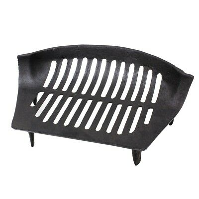 JVL Chiltern Black Vintage Cast Iron Fireside Log Coal Fire Grate Companion