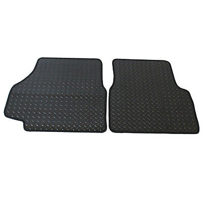 For Landrover Defender 90/110 1990+ Tailored 2 Piece Rubber Car Mat Set