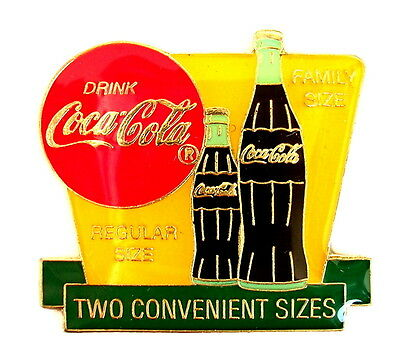 COCA COLA Pin / Pins - TWO CONVENIENT SIZES