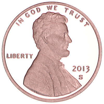 2013 S Lincoln Shield Cent Gem Deep Cameo Proof Penny