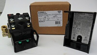 Brand new Furnas / hubbell Pressure Switch for air compressor 69JF9LY  140-175