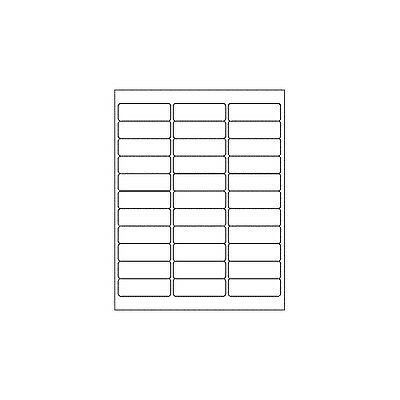 Laser/Copier Labels DL33 64 x 24.3mm Box of 100 - ON511633