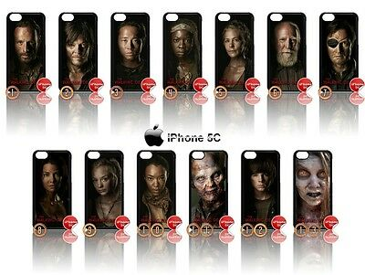 NEW CHOICE OF ★ THE WALKING DEAD ★ COVER/CASE FOR APPLE IPHONE 5C