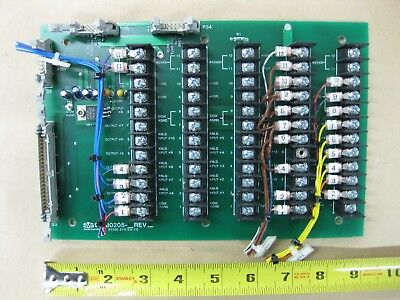 SVG Silicon Valley Group 90S ASML 99-80205 SYS90 I/O Board Rev. F