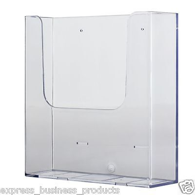 4 Pack A4 Brochure Holder Wall Mounted - JP39610