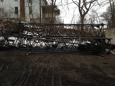 60 Ton P & H Mdl. 660-TC Truck Crane;  Lattice Boom; Heal section,160' available