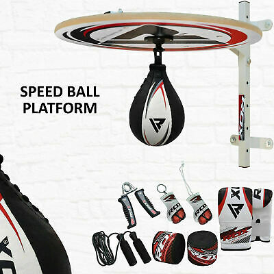 RDX 10PC Punchingball Speedball Plattform Boxen Set Boxbirne Standboxsack DE