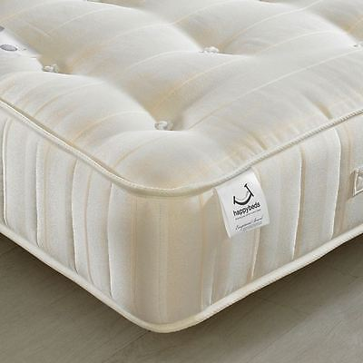 Happy Beds Supreme Ortho Orthopaedic Mattress Handmade Bonnell Spring Very Firm