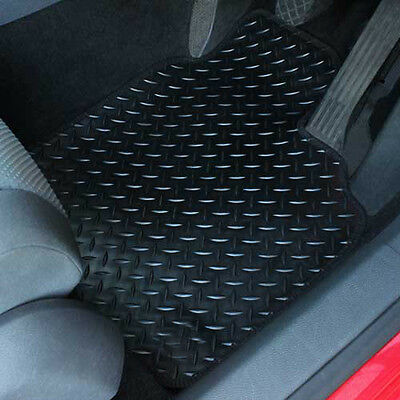For British Leyland Classic Mini Fully Tailored 4 Piece Rubber Car Mat Set