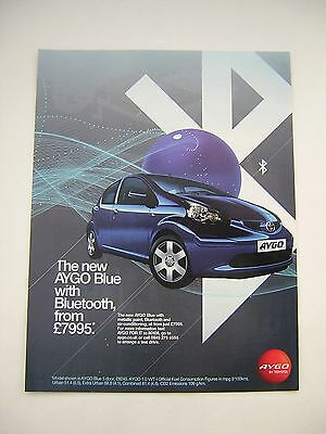 Toyota Aygo Blue Advert from 2007 - Original