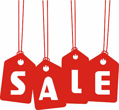 """Sale"" Hanging Removable Shop Business Wall Window Sign Vinyl Stickers Decor"