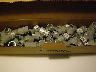 "Carlon Lamson and Sessons E943D-CTN 1/2"" PVC Conduit Male Adapter New Lot of 200"