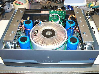 QUAD 606 or 909 Power Amplifier Audiophile REPAIR and Restoration SERVICE