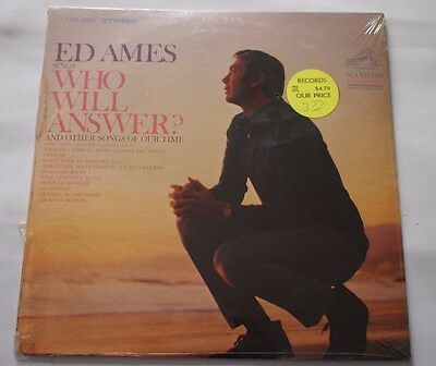 Ed Ames Sings Who Will Answwer 1968 LP Vinyl LP S/S Factory Sealed LSP-3961