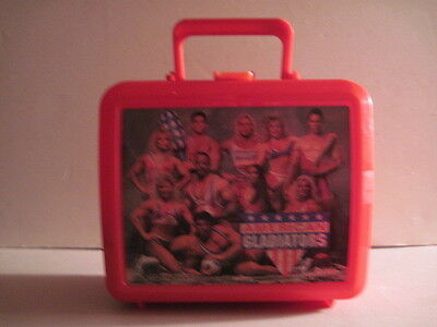 American Gladiators Lunchbox with Thermos! 1992 Aladdin!