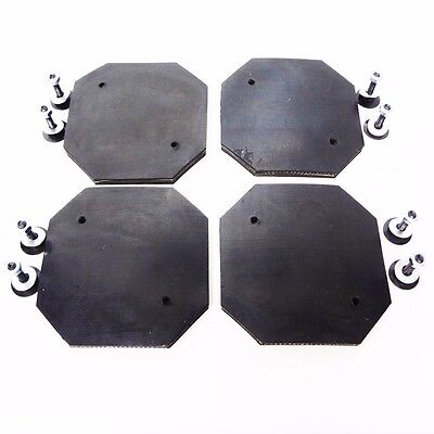 Heavy Duty Rubber Arm Pad for ROTARY REVOLUTION LIFT Set of 4 PADS -RTP9 RTP10