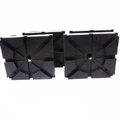 RECTANGLE RUBBER PADS  Wheeltronic Lift Ammco Lift Magnum Lift set of 4 pads HD