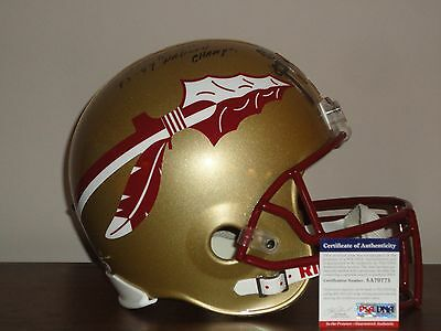 College-ncaa Sports Mem, Cards & Fan Shop Bobby Bowden Signed Fsu Seminoles Football Beckett Bas Coa W/ Natl Champs Insc Complete In Specifications