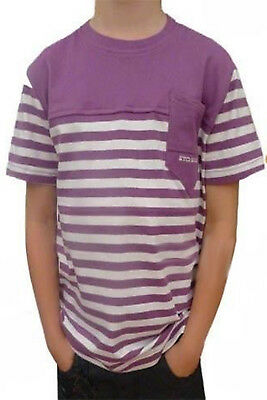 ETO Boys Designer Stripped T-Shirt Childrens Casual Summer Reduction Sale Top