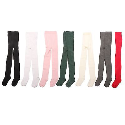 3 x Girls Kid Children Baby Toddler Teenager Cotton Rich School Uniform Tights