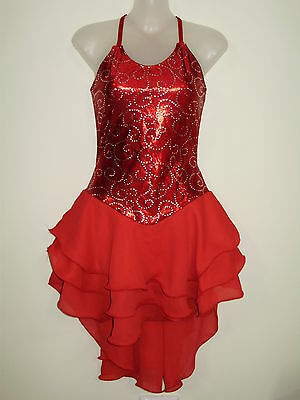 ICE/ROLLER/Ballroom/Dance  LEOTARD  LADIES MEDIUM- NEW