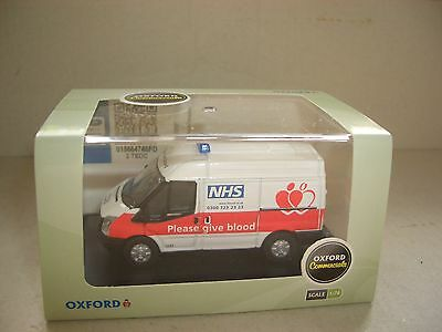 Juguete Coche Oxford FT008 76FT008 1/76 Ford Transit SWB