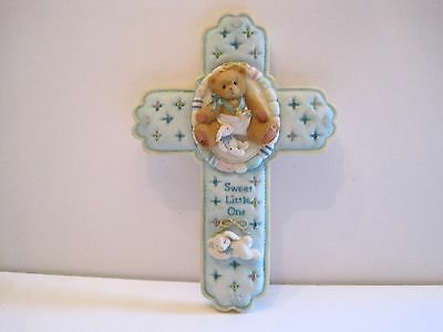 "Cherished Teddies: ""Sweet Little One"" Wall Cross"
