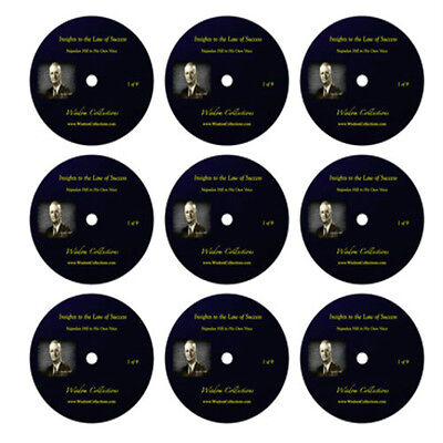 Napolean Hill In His Own Voice: Insights To The Law of Success (Audio: 9 CD's)