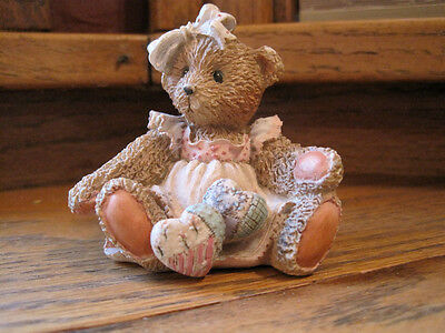 """Cherished Teddies: Amy """"Hearts Quilted With Love"""""""