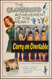 1961 Carry On Constable original film poster. 27 x 41 inches. Nice example!