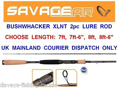 Clearance Savage Gear Bushwhacker Rod Series Lure Spinning Pike Bass Perch Trout