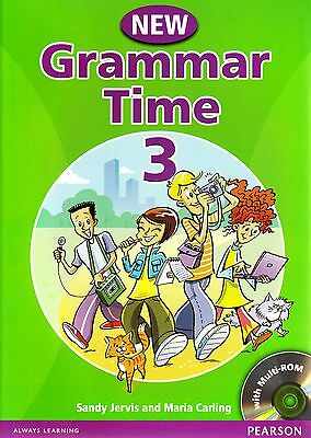 Pearson NEW GRAMMAR TIME 3 Student's Book with Multi-ROM S.Jervis M.Carling NEW