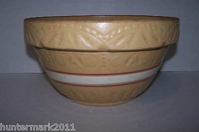 1920 YELLOW WARE MIXING BOWL BY ROBINSON RANSBOTTOM POTTERY #391
