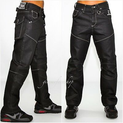 Peviani coated g kids/youth jeans, star wax hip hop urban black time is money