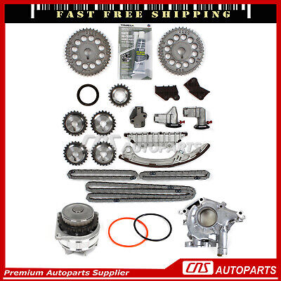 Timing Chain Kit & Water + Oil Pump for 95-01 Nissan Maxima Infiniti I30 VQ30DE