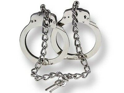 Real Legcuffs Double Lock Nickel Plated Steel Lc-222Sl