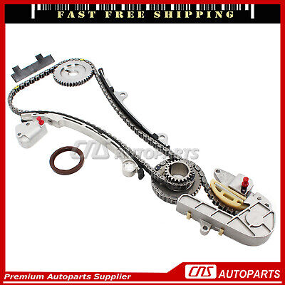 Complete Timing Chain Kit for 02-06 Nissan Altima Sentra 2.5L DOHC QR25DE