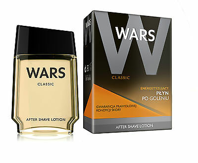 Wars Classic AFTER SHAVE LOTION 90ml (Grundpreis 100ml: 8,77€ inkl. MwSt.)