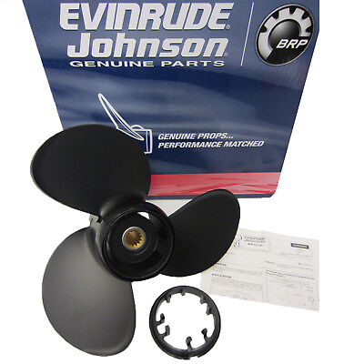 Evinrude Johnson New OEM Hydrus Propeller Pontoon Prop 13.875x13 177203 13-7/8