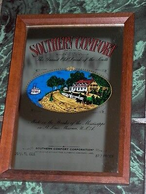 Southern Comfort Grand Old Drink of the South England Mirror Sign