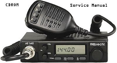 Radio Shack HTX-252 * Albrecht  AE-540 Service and Owners Manual * CDROM * PDF