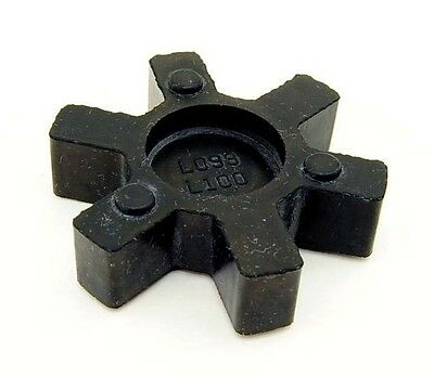 L100 Flexible NBR Rubber Spider Insert Fits L-100 Lovejoy Martin L-Jaw Coupling