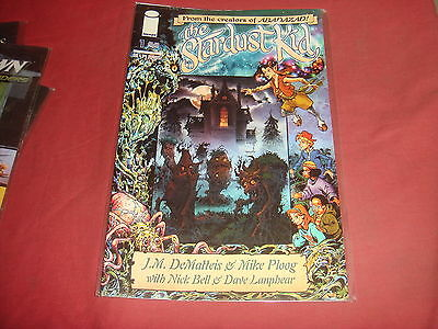 THE STARDUST KID #1 Mike Ploog  Image Comics - 2005  NM