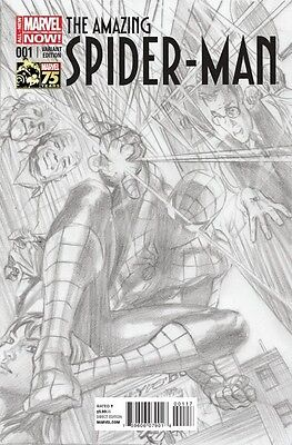 Amazing Spider-Man 1 Vol 3 Alex Ross 1:300 Sketch Variant Superior